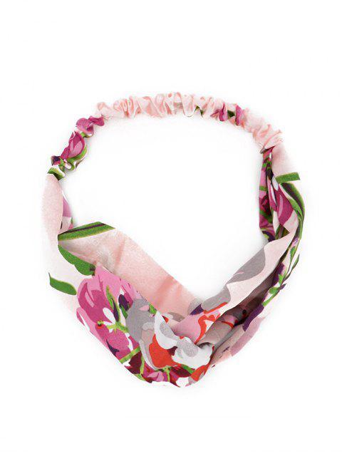 Bandeau de Cheveux Motif de Fleuri Minuscule - Rose   Mobile