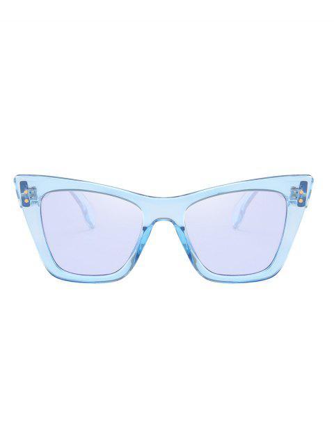 Lunettes de Soleil Carrées Protection UV pour Extérieur - Bleu Toile de Jean  Mobile