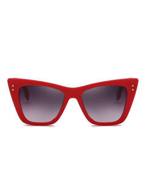 Lunettes de Soleil Carrées Protection UV pour Extérieur - Rouge  Mobile