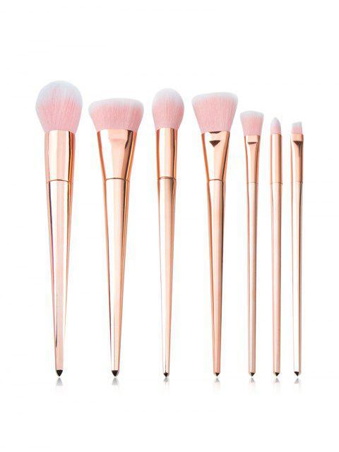 Набор Кистей Для Макияжа Профессиональный 7Шт - Розовый золотистый   Mobile