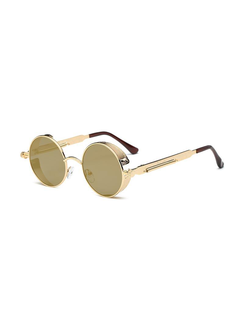 Retro Round Metal Frame Sunglasses thumbnail