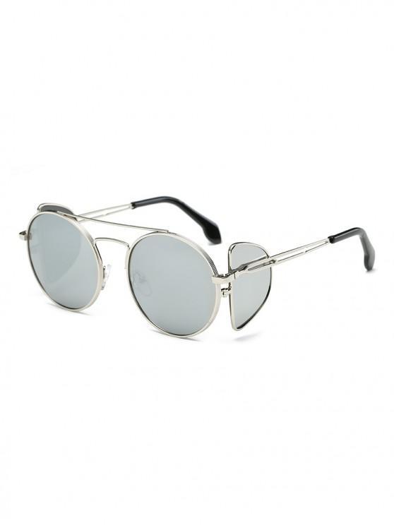 hot Double Lens Sunglasses - SILVER