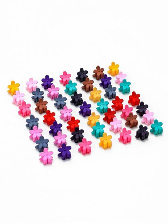 buy 50PCS Flower Hairgrips - MULTI