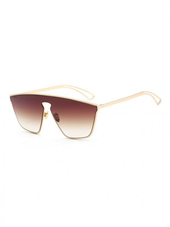 نظارات شمسية مصنوعة من المعدن - بنى
