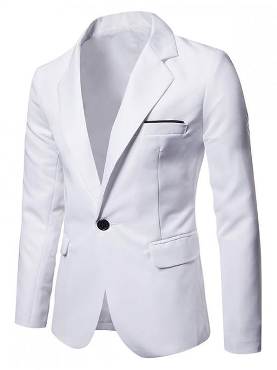 Giacca da abito con spacco laterale con un bottone e taschino - Bianca M