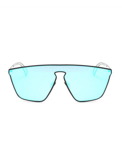 Lunettes de Soleil Evidées Anti-UV en Métal - Ciel Bleu Foncé  Mobile