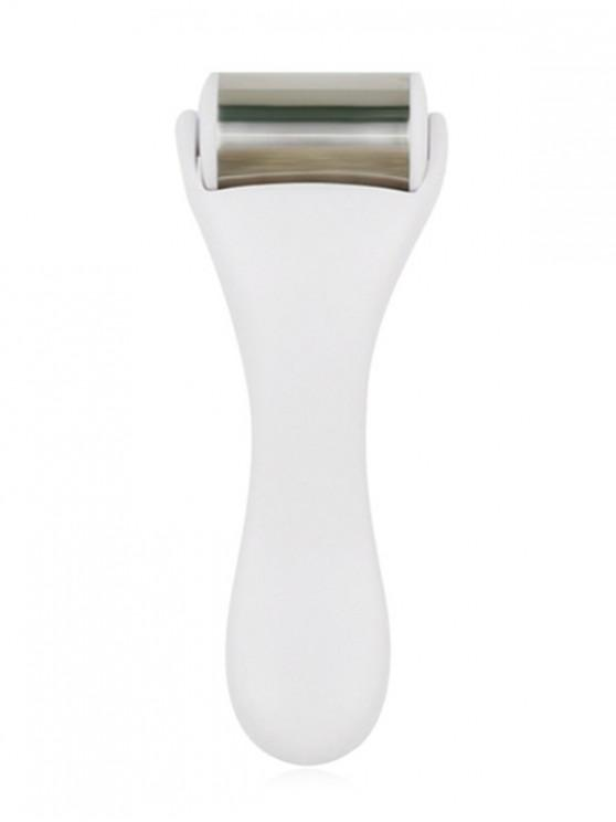 online Facial Beauty Massage Care Stainless Steel Roller - WHITE
