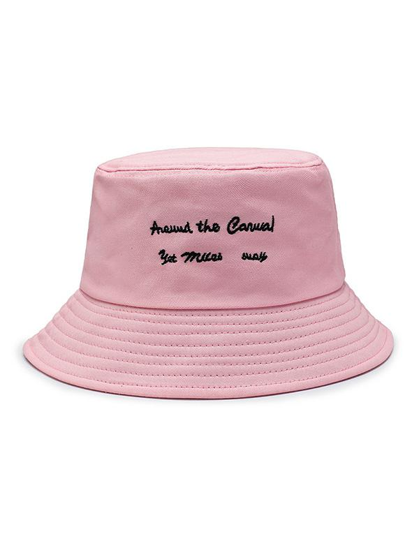 Personaggio Ricamato Bucket Hat
