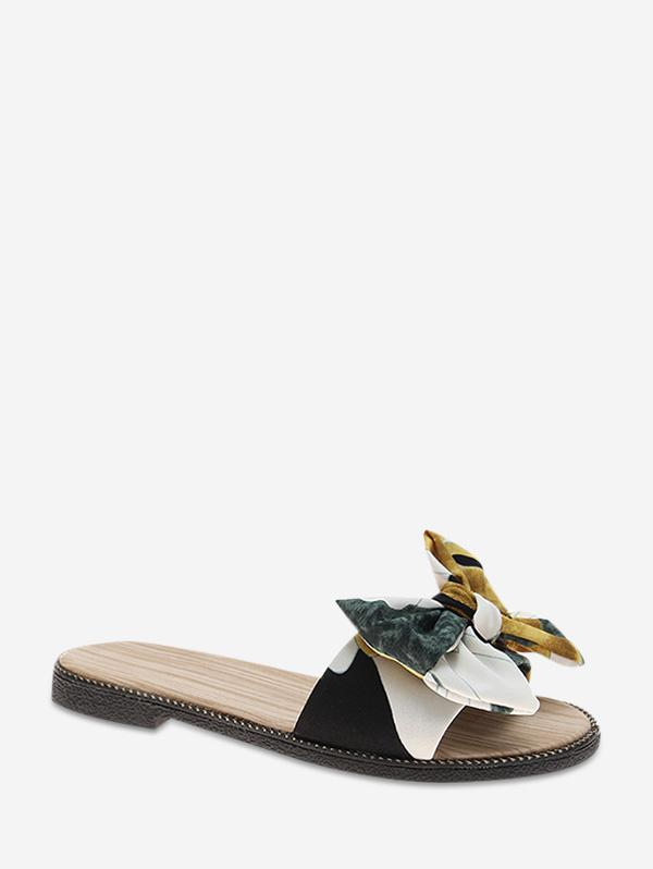 Elegante Bowknot Di Disegno All'Aperto Pantofole