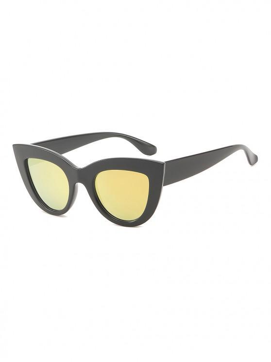 online Vintage Wide Rim Anti UV Sunglasses - PINK