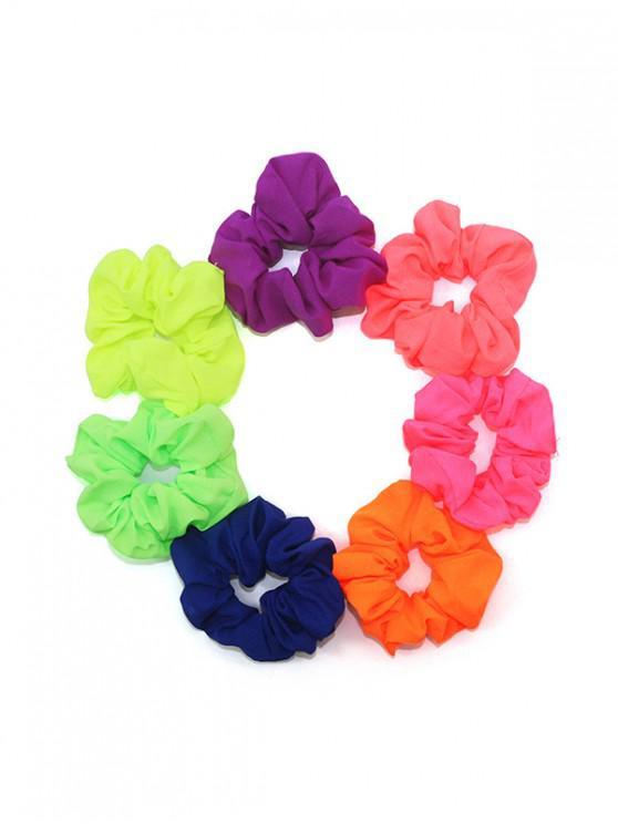 affordable 7PCS Scrunchies - TWILIGHT