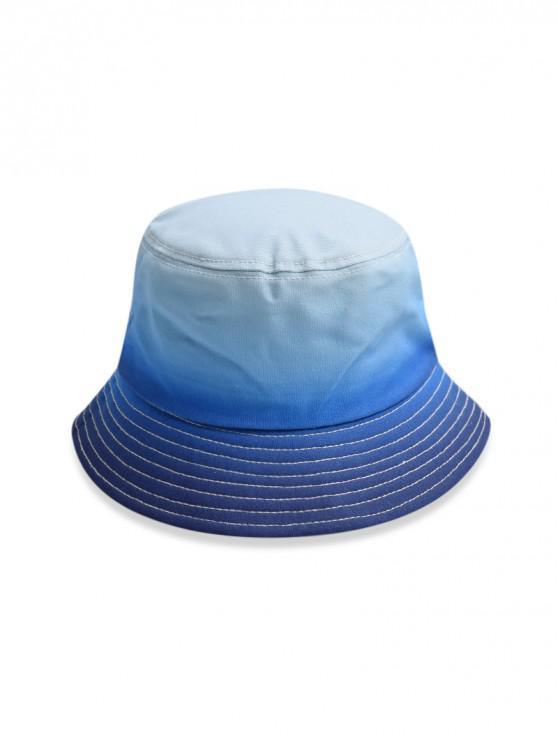 Chapeau de Soleil de Pêcheur Dégradé - Bleu