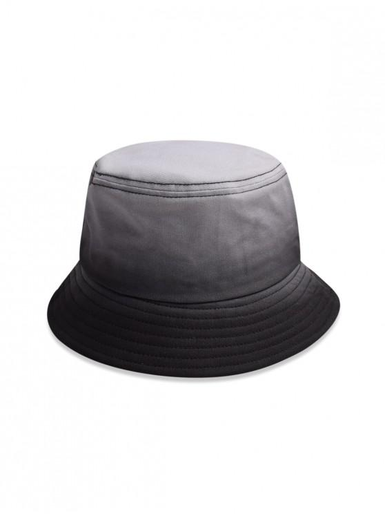 Chapeau de Soleil de Pêcheur Dégradé - Noir