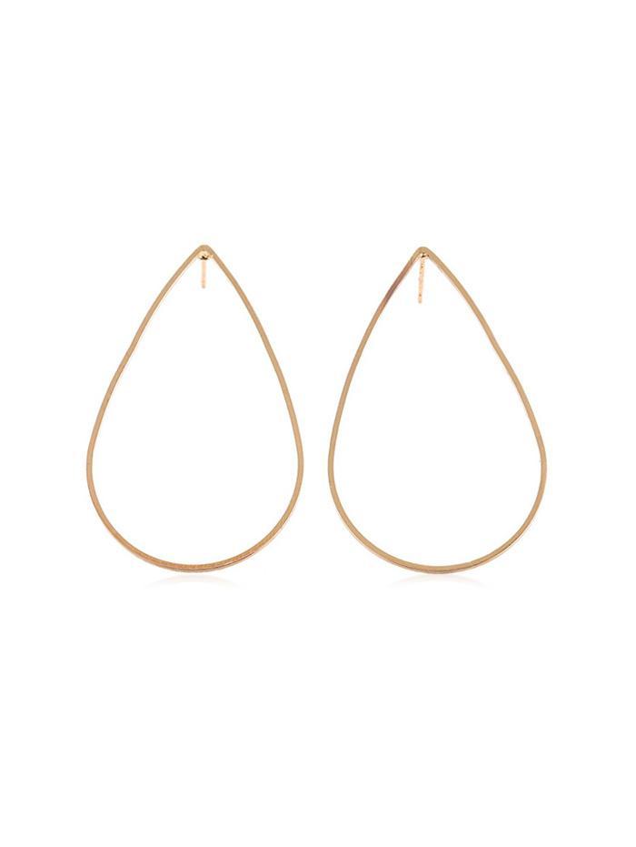 Alloy Waterdrop Pattern Earrings thumbnail