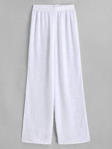 سروال شاطئ نصف شفاف - أبيض