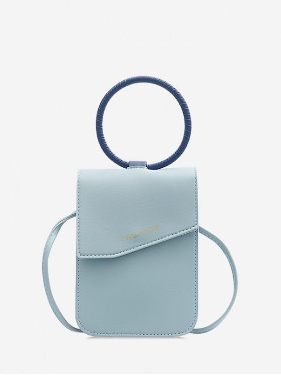 Mini borsa per cellulare - Blu Cielo