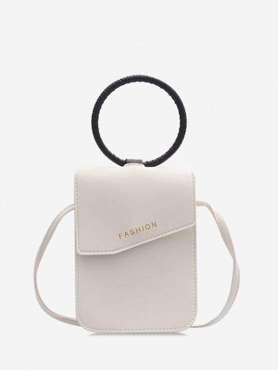 Mini borsa per cellulare - Bianca