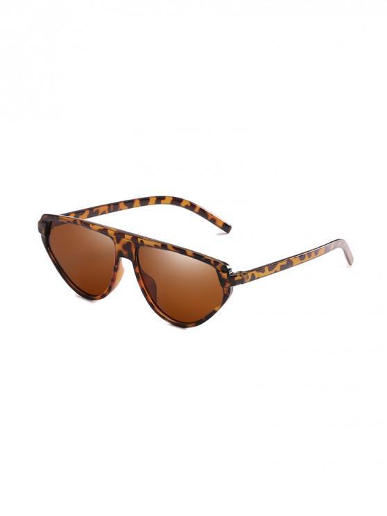 Occhiali da sole irregolari con protezione UV - Leopardo
