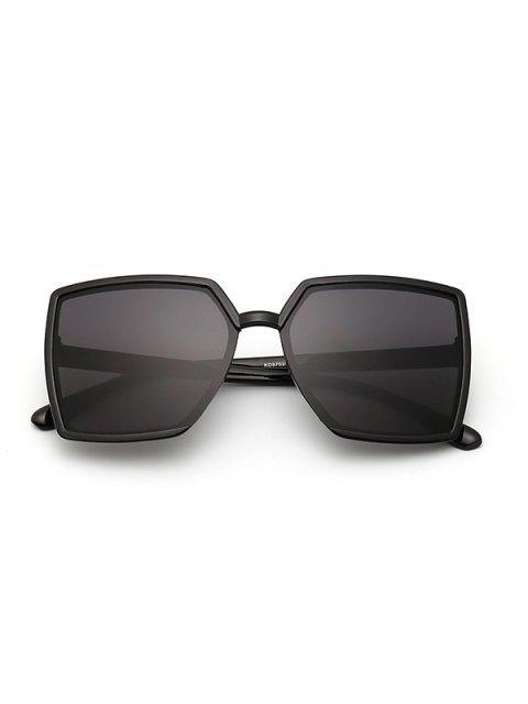 Квадратные Солнцезащитные Очки - Чёрный  Mobile