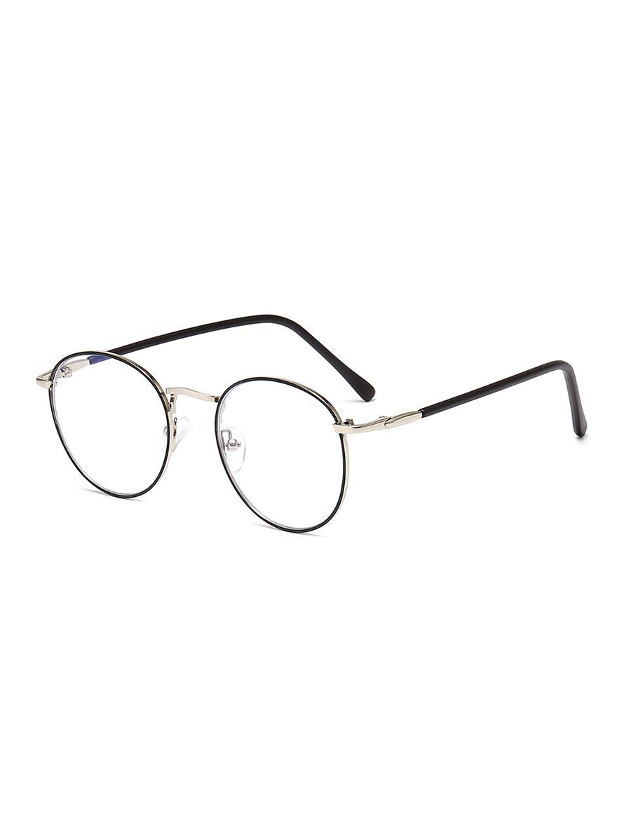 Vintage Round Brief Transparent Glasses фото