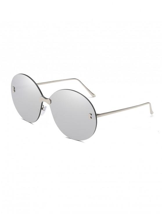 Metal No Frame Sunglasses - Platino