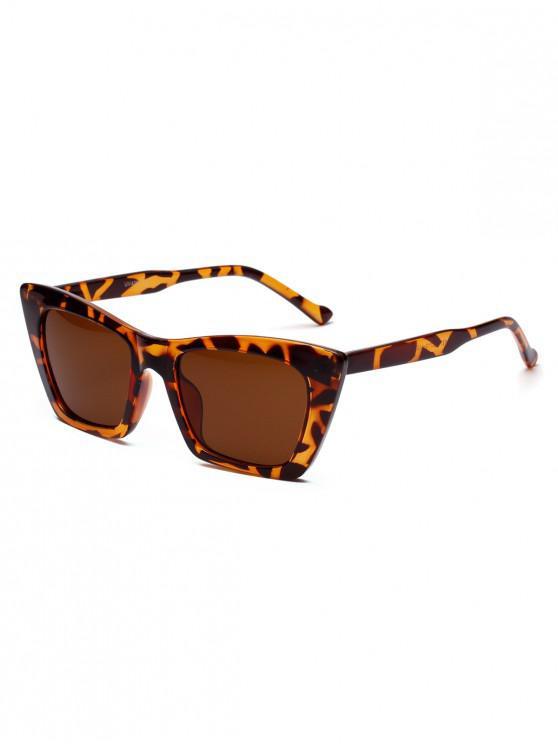 Occhiali da sole con montatura geometrica Street Snap - Leopardo