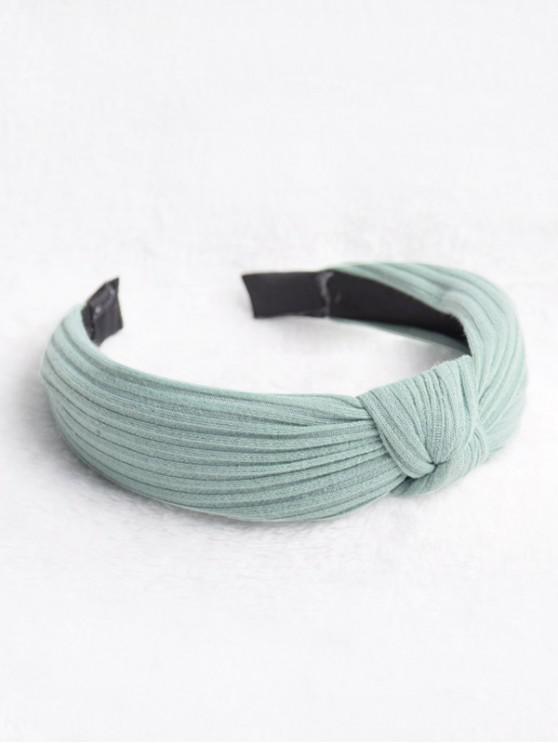 Hairband classico solido a strisce modello - Blu Verde  Macaw