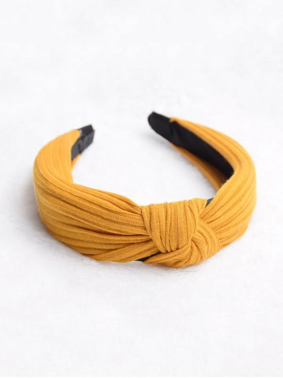 Hairband classico solido a strisce modello - Arancia Zucca