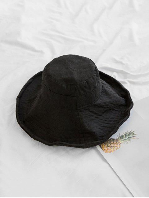 Солнцезащитная Дышащая Шляпа Широкий край - Чёрный  Mobile