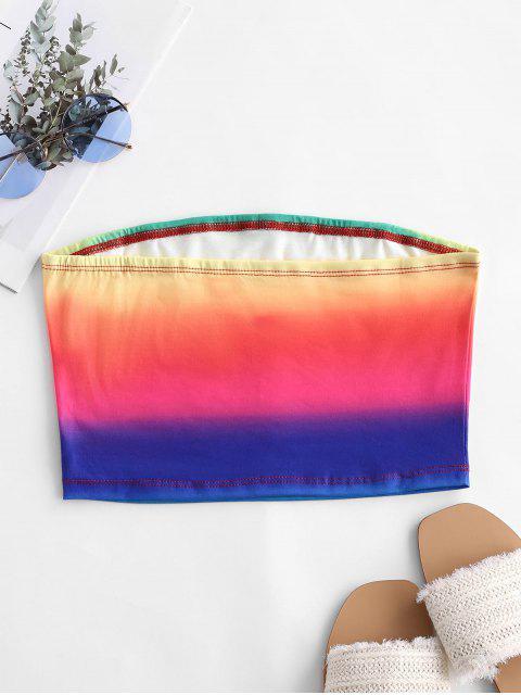 Top de tubo Rainbow Ombre - Multicolor-A S Mobile