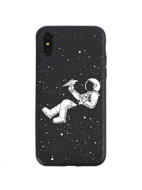 ladies Star Astronaut Print Phone Case For IPhone - WHITE X/XS