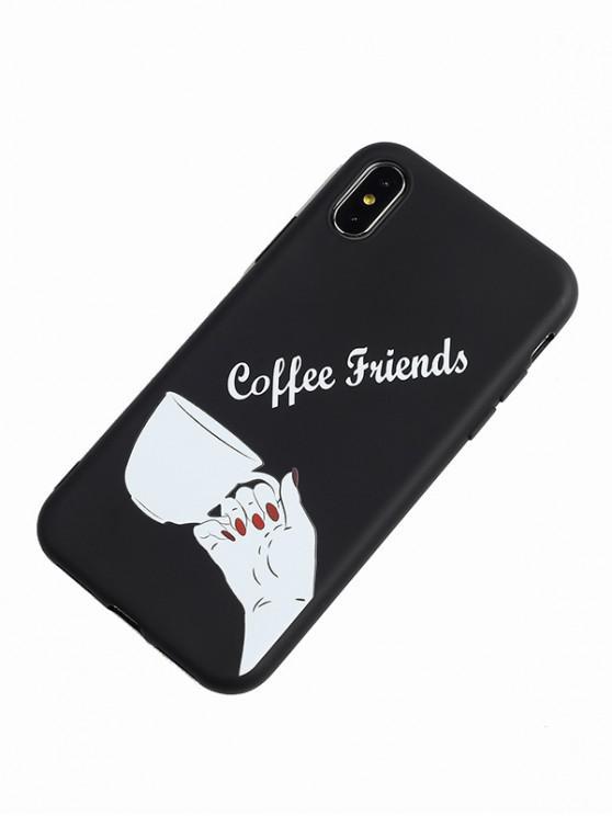 Téléphone Geste 6 IphoneBlanc Café Pour Cas De 6s 67Ygbyf
