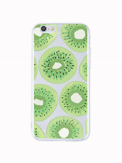 outfits Kiwi Fruit Phone Case For Iphone - LAWN GREEN 6P Mobile