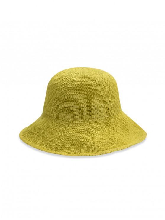 หมวกถังทอธรรมดา - สีเขียว
