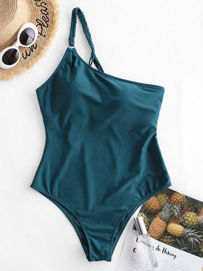 Braided One Shoulder One piece Swimsuit