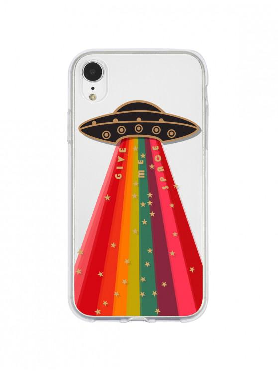 chic Rainbow Space Star Phone Case For Iphone - LAVA RED 6/6S