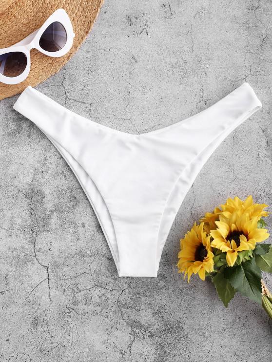 Slip bikini a gamba alta ZAFUL - Bianca S