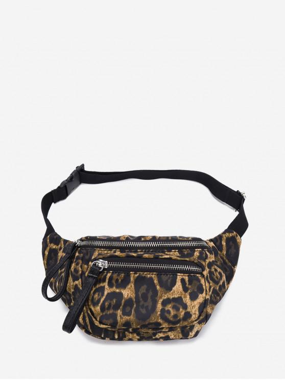 chic Leopard Print Casual Funny Pack - LEOPARD