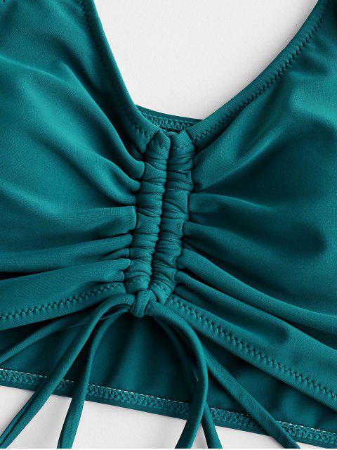 ZAFULTankinideCinturaAltaconCordonesFrontales - Azul Eléctrico L Mobile