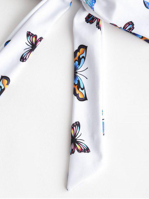 ZAFUL Принт бабочки С бантом Резинка для волос - Многоцветный-A  Mobile