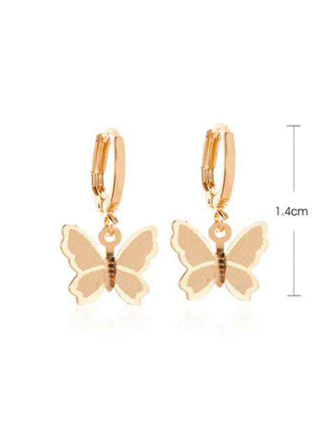 Süßer Schmetterling- Ohrclips - Silber  Mobile