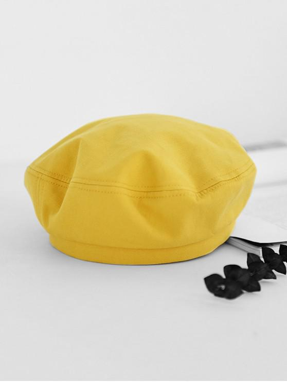 unique Brief Adjustable Outdoor Painter Hat - YELLOW