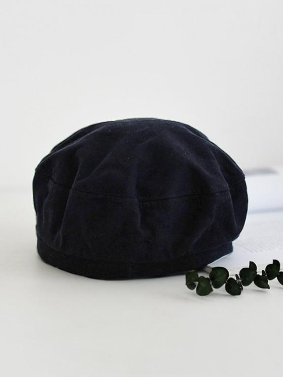 women's Brief Adjustable Outdoor Painter Hat - BLACK