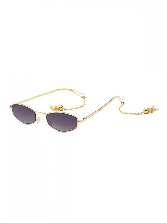 buy Street Chain Vintage Sunglasses - GRAY