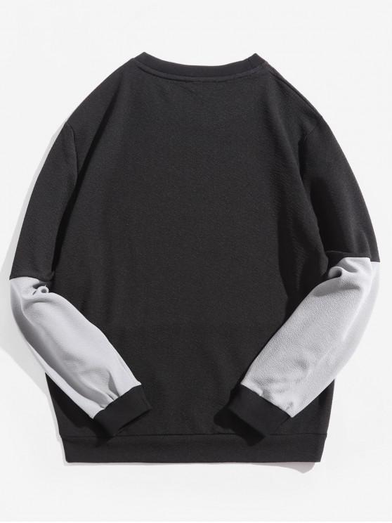 shirt Xs Sweat À Manches LonguesNoir N80wvnOm