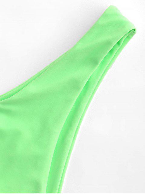 ZAFUL Einfache Bikini -Bottom mit Hohem Bein - Minzgrün M Mobile