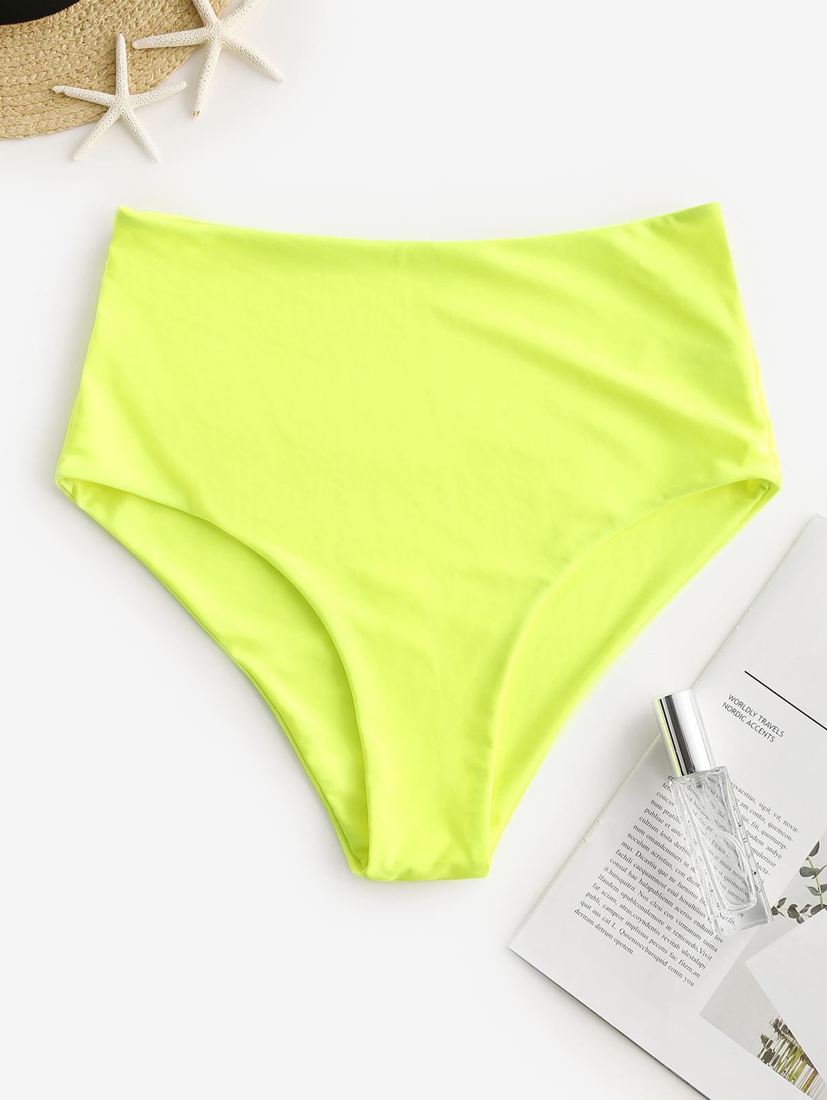 ZAFUL High Waisted Plain Bikini Bottom thumbnail