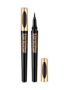 السلس دائم كحل السائل كحل القلم - أسود