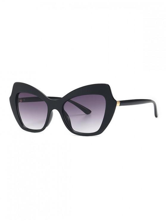 buy Vintage Gradient Butterfly Sunglasses - BLACK