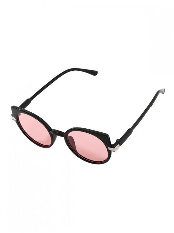 Orejas Diseño simple gafas de sol con estilo - Rosado